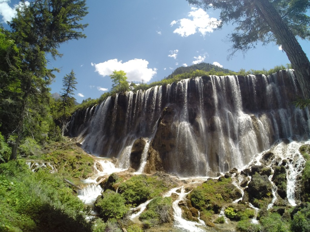 Waterfalls of Panda Lake - Jiuzhaigou