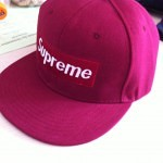 Supreme cap, fake brand