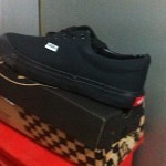 Vans shoes black, fake branded