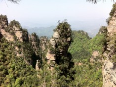 Typical rock from Avatar movie in Zhangjiajie
