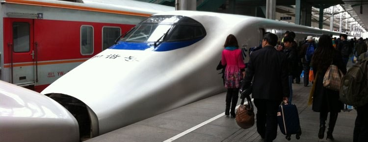 travel by train in china